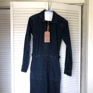 Lucky brand denim jumpsuit